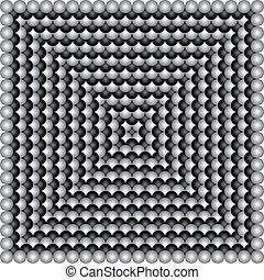 geometriai, vektor, illusions