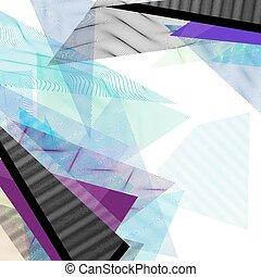 geometriai, vektor, zenemű
