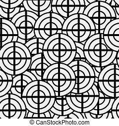 geometric példa, nouveau, struktúra, tervezés, seamless, alakzat