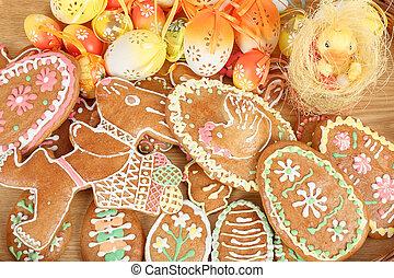 gingerbreads, ikra, húsvét, gyűjtés