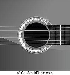 gitár, akusztikai, részletez