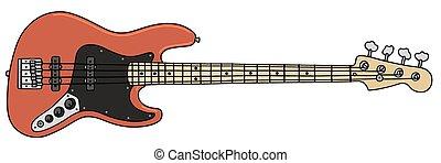 gitár, basszus