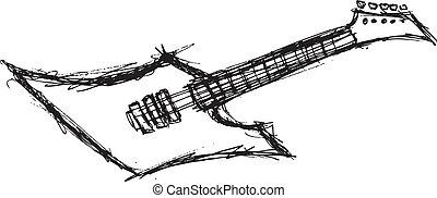 gitár, elektromos