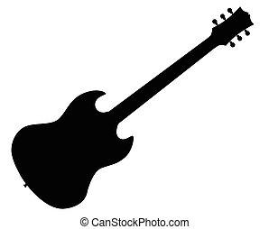 gitár, elektromos, standard