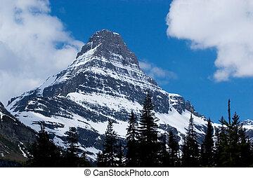 gleccser csúcs, liget, nemzeti