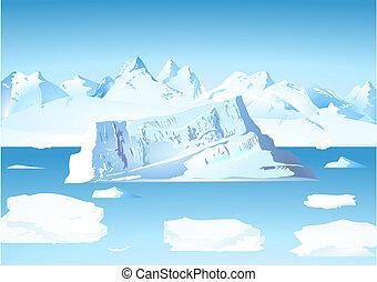 gleccser, jéghegy