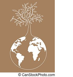 globális, fa