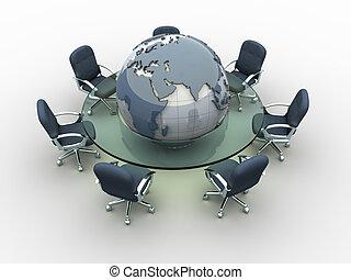 globális, gyűlés