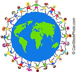 globális, gyerekek