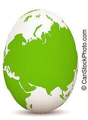 globális, tojás