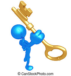 gold kulcs, birtok