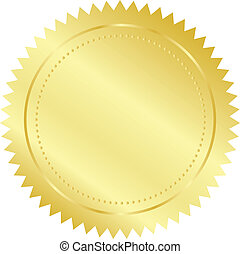 gold lepecsétel