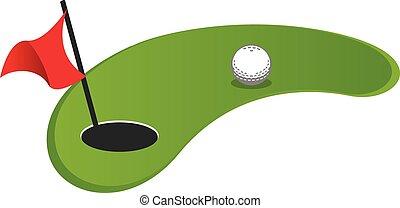 golf, mini
