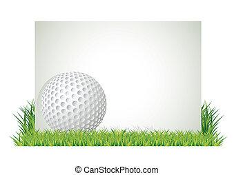golf, transzparens