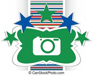 gombol, ábra, eredeti, fényképezőgép, internet, kerek, ikon