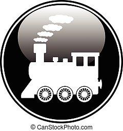 gombol, lokomotív