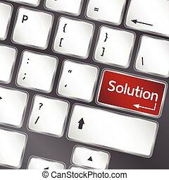 gombol, vektor, laptop, oldás, billentyűzet