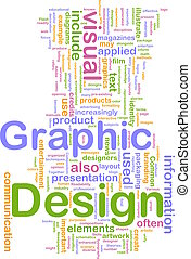 grafikus, fogalom, tervezés, háttér