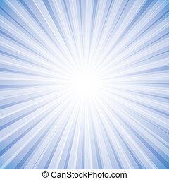 grafikus, nap, ég, küllők, fényes, vektor, háttér, fehér