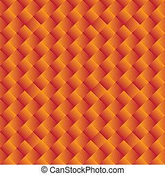 graphic., fényes, geometriai, narancs háttér, seamless, -, vektor, alakzat, sárga