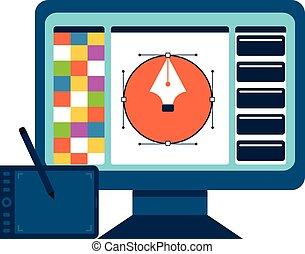 graphic tervezés, concept., nyomtatás