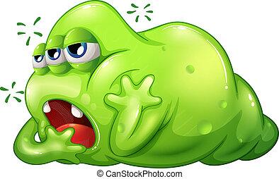 greenslime, szörny, unalom