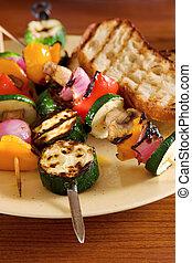 grillsütő növényi