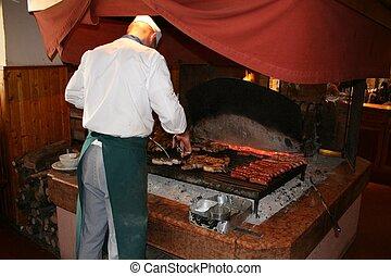 grillsütő, olasz