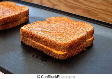 grillsütő sajt szendvics