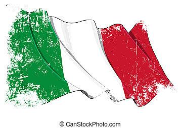 grunge, lobogó, olaszország