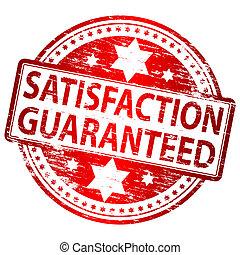 guaranteed, bélyeg, megelégedettség