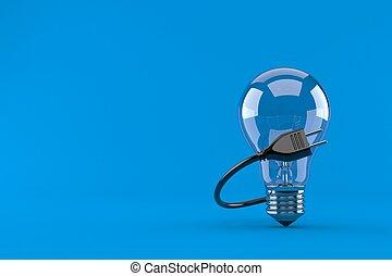 gumó, elektromos gyertya, fény