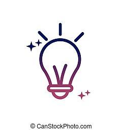 gumó, média, mód, újítás, társadalmi, fény, gondolat, gradiens, ikon