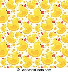 gumi, motívum, sárga kacsa