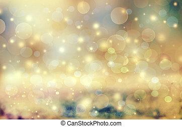 gyönyörű, ünnep, varázslatos, fényes, elvont, örömöt szerez, bokeh., állati tüdő, karácsony, háttér, izzó, más, irattartó, images., hasonló, ellenőriz