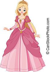 gyönyörű, hercegnő