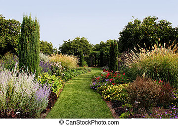 gyönyörű, kert
