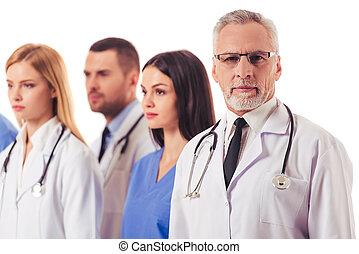 gyönyörű, orvosi, orvosok