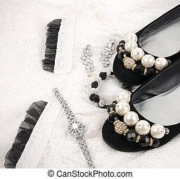 gyönyörű, segédszervek, cipők