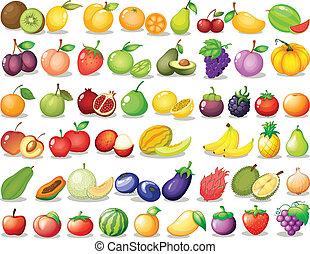 gyümölcs, állhatatos