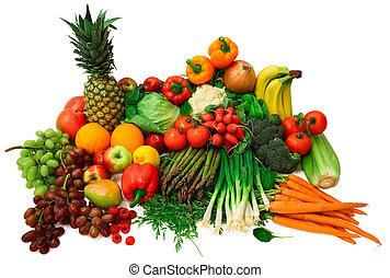 gyümölcs, friss növényi