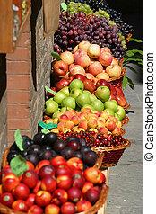 gyümölcs, piac