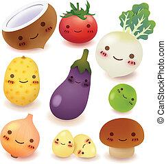 gyűjtés, gyümölcs, növényi