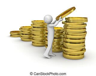gyűjtés, pénz bábu