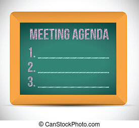 gyűlés, lista, napirend, ábra