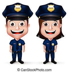 gyakorlatias, állhatatos, rendőrség, betűk, 3