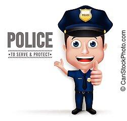 gyakorlatias, betű, ember, rendőrség, 3