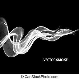 gyakorlatias, black dohányzás, háttér, vektor