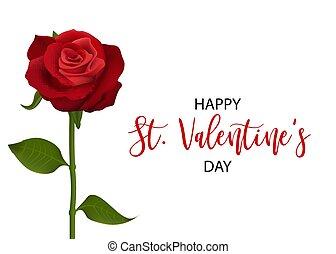 gyakorlatias, valentines, piros lap, rózsa