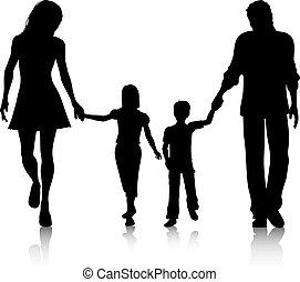 gyalogló, család